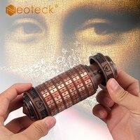 Neoteck Da Vinci Code Mini Cryptex Valentinstag Interessant Kreative Romantische Geburtstag Jahrestag Geschenke Kostenloser Mit Ring-in Schlösser aus Heimwerkerbedarf bei