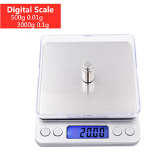 Cooking Weighing-Scale Balance-Gram Digital Jewelry Food for Tea-Baking 50%Off Lcd-Display