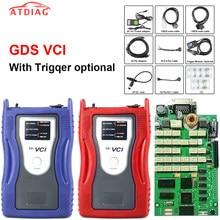 Venda quente gds vci para (função de registro de vôo do módulo do disparador) ferramenta de verificação de interface obd2 diagnóstico