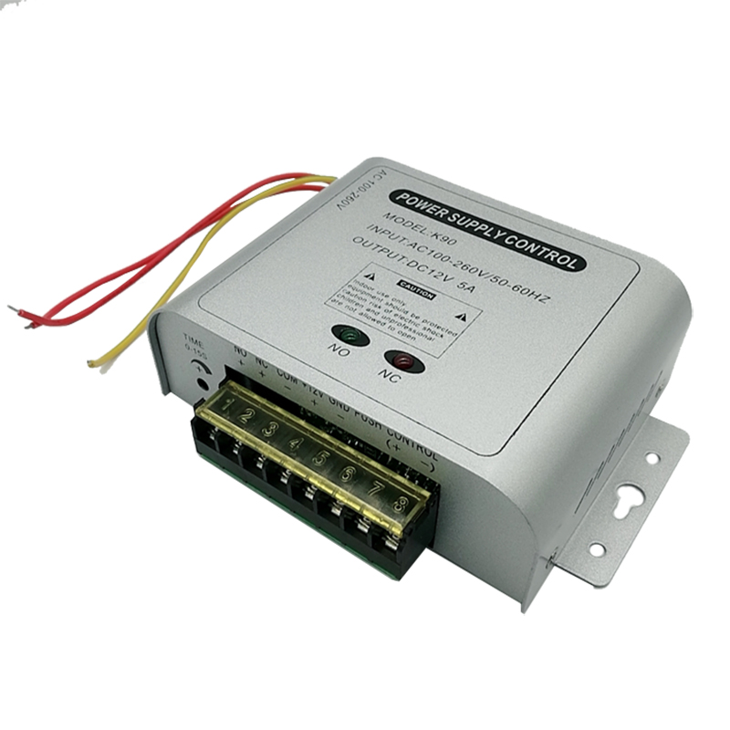12V5A Switching Power Adapter Door Lock Access Control Power Supply Unit