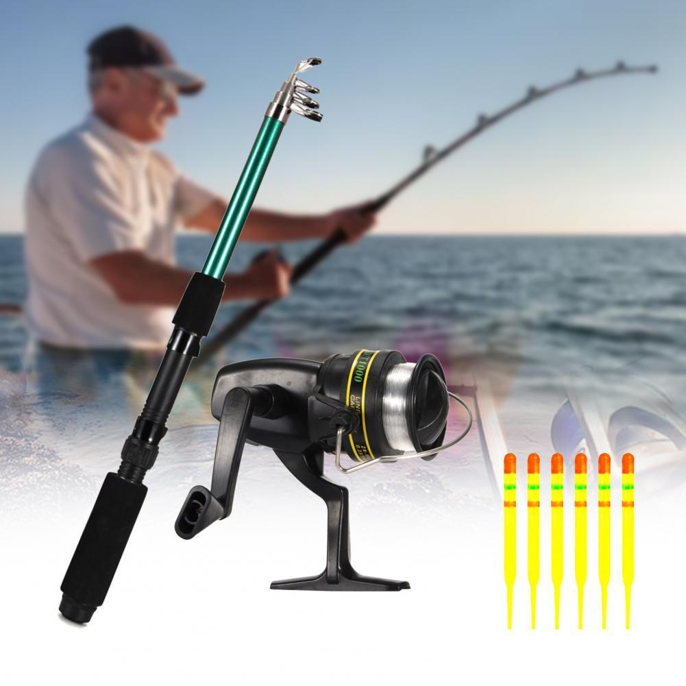 127Pcs/Set TF105 Fishing Tackle Tools Equipment with 1.6m Rod Fish Reel Gear Professional Fishing Fishing Tackles