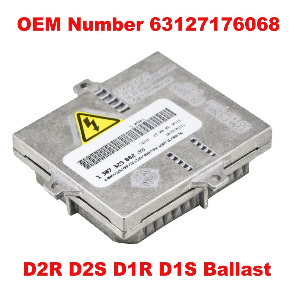 1 pièces 12V 35W D2S D1S OEM HID xénon phare Ballast calcul unité de contrôle pièce 63127176068 pour BMW Benz Audi Mini V Mazda gamme