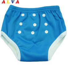 U PICK 1pc 2019 NEW ALVA Bamboo Inner Anti-bacterial Baby Training Pant(China)