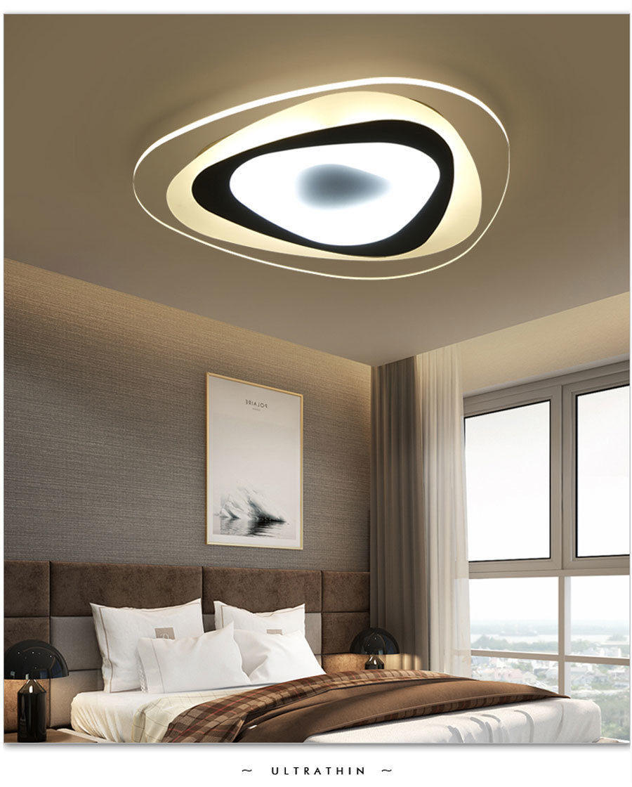 H01c1a97f9a284961b8095fd1ff048cf5p Ultrathin Triangle Ceiling Lights lamps for living room bedroom lustres de sala home Dec LED Chandelier ceiling