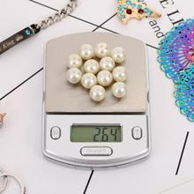 Портативные электронные цифровые карманные весы граммов вес алмазные ювелирные весы инструменты для медицины пряности для кухни инструменты