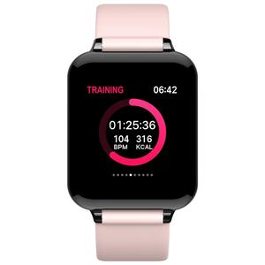 Image 2 - Women Smart Watch Color Screen IP67 Waterproof For Iphone Smartwatch Heart Rate Monitor Blood Pressure Functions Sports Watches