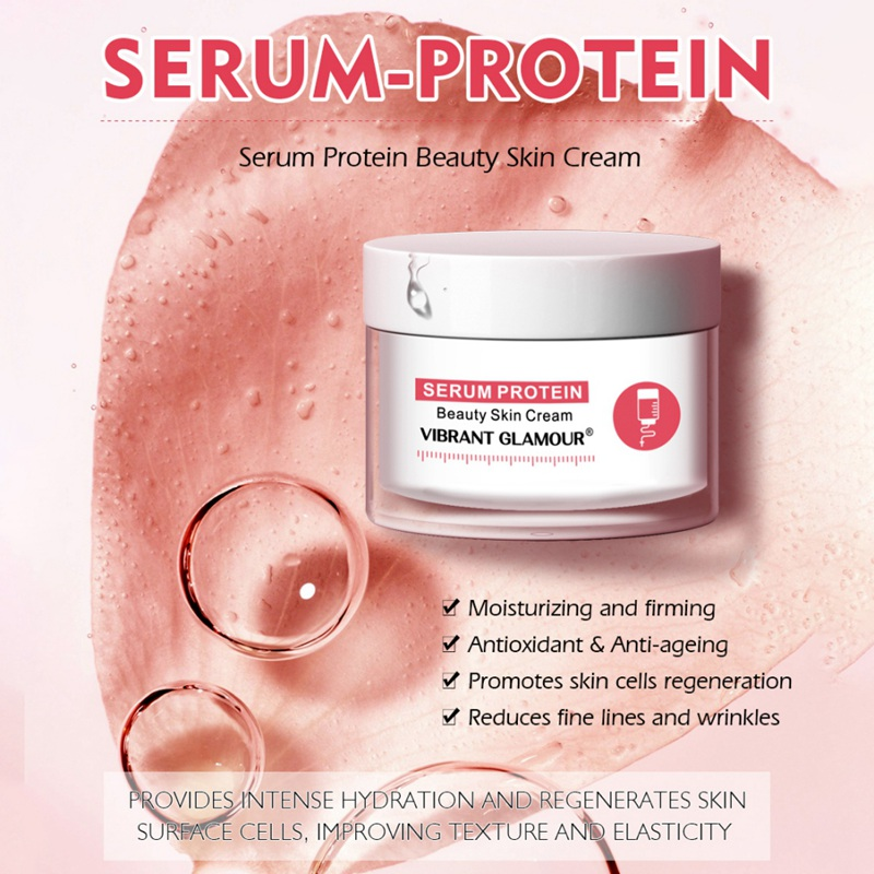 Facial Care Cream Soothe Soft Skin Water Natural Serum Protein Lifting Firming Eye Cream