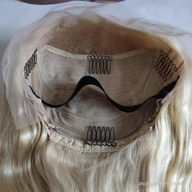 613 Blonde Lace Front Wig Deep Body Wave Ombre Human Hair Wig Brazilian Remy Pre Plucked 13x4 Transparent Lace Wigs 150% Density