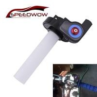 SPEEDWOW Motocicleta Apertos Acelerador Visual Gás Torção Punho Do Acelerador Para ATV Dirt Bike Guiador Peças Da Motocicleta