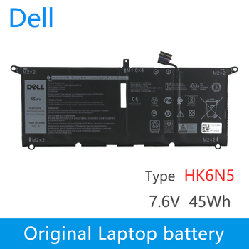 Dell Original New Replacement Laptop Battery For DELL XPS 9370 9380 5390  HK6N5  7.6V 45Wh 5618mAh