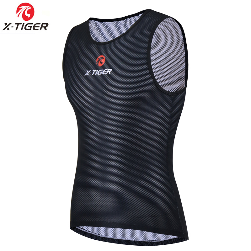 X-Tiger Cycling Base Layer Jerseys Keep Dry Mesh Cycling Clothing Mountain Road MTB Bike Jersey Outdoor Sports Downhill Jerseys