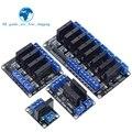 Реле 5 в 1 2 4 8 каналов OMRON SSR твердотельное реле высокого и низкого уровня 250 В 2 а для Arduino