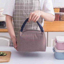 Portable Functional Oxford Lunch Bag Insulated Thermal Food Storage Bag Travel Working Bento Box Lunch Bags For Women Kids oxford thermal lunch bag insulated cooler storage women kids food bento bag portable leisure accessories supply product stuff