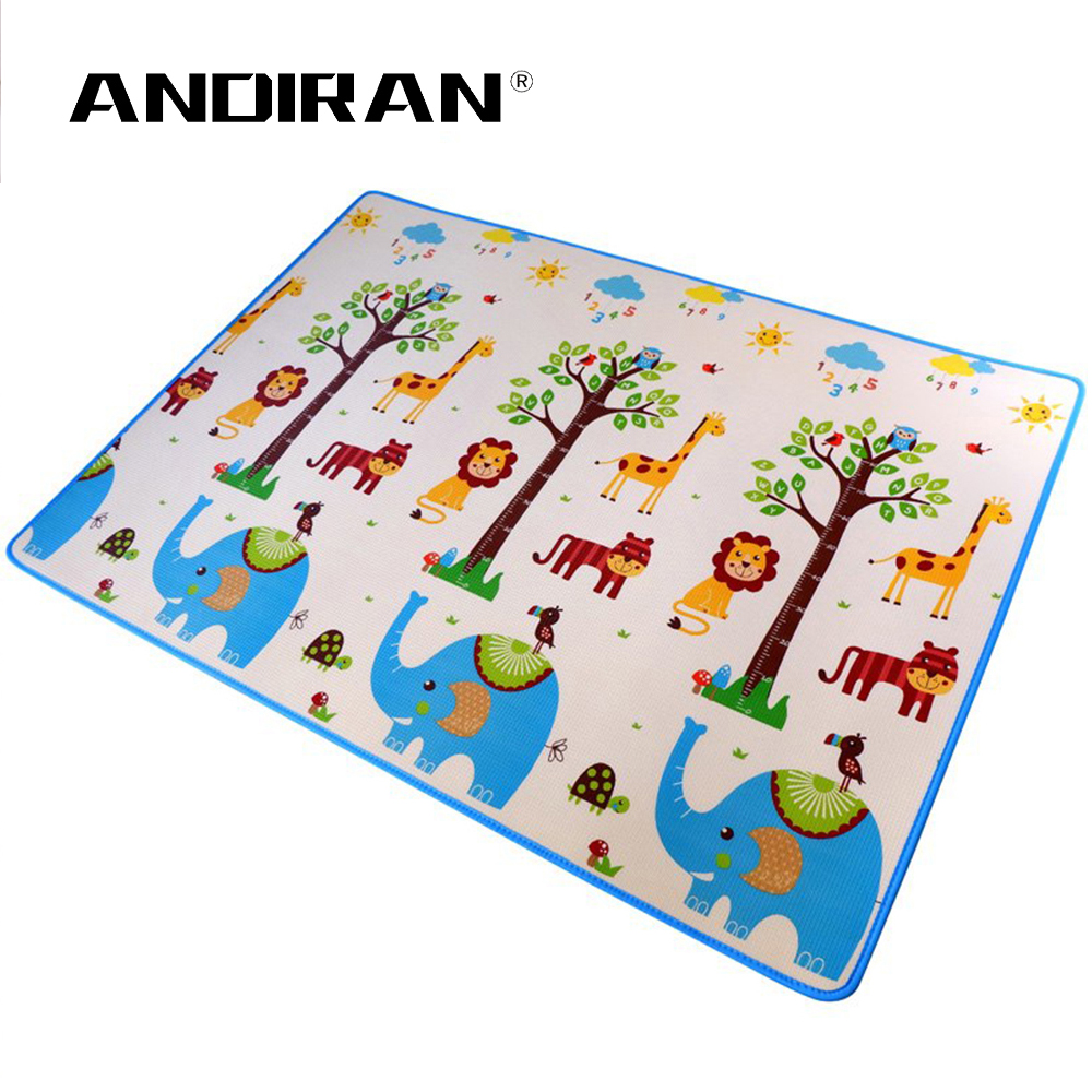 Baby XPE Game Pad Living Room Crawling Carpet Puzzle Mat XPE Crawling Blanket Thickened Mat