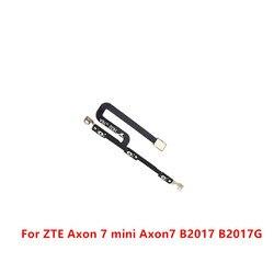 Power on fora do interruptor de volume botão lateral chave cabo flexível peças de reposição para zte axon 7 mini axon7 b2017 b2017g axonmini
