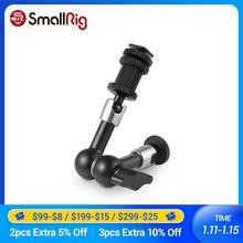 """Smallrig dslr câmera rig articulação roseta braço (7 """") para suporte monitor durável braço mágico para flash luz anexar 1497"""