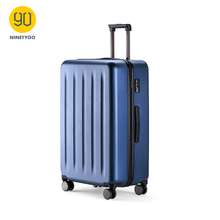 Ninetyg 90FUN Koper Berwarna-warni Rolling Luggage Carry Ringan Spinner Roda Perjalanan TSA Lock Wanita Pria 20 24 28 inci(China)