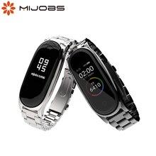 Mi Band 5 Riem Metalen Armband Voor Xiaomi Mi Band 4 Band Nfc Global Correa Smart Horloge Armband Rvs mi Band 3 Band