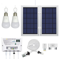Solar Small scale Photovoltaic Power Generation System Home Camping Light Mobile Power Chargeable Mobile Phone
