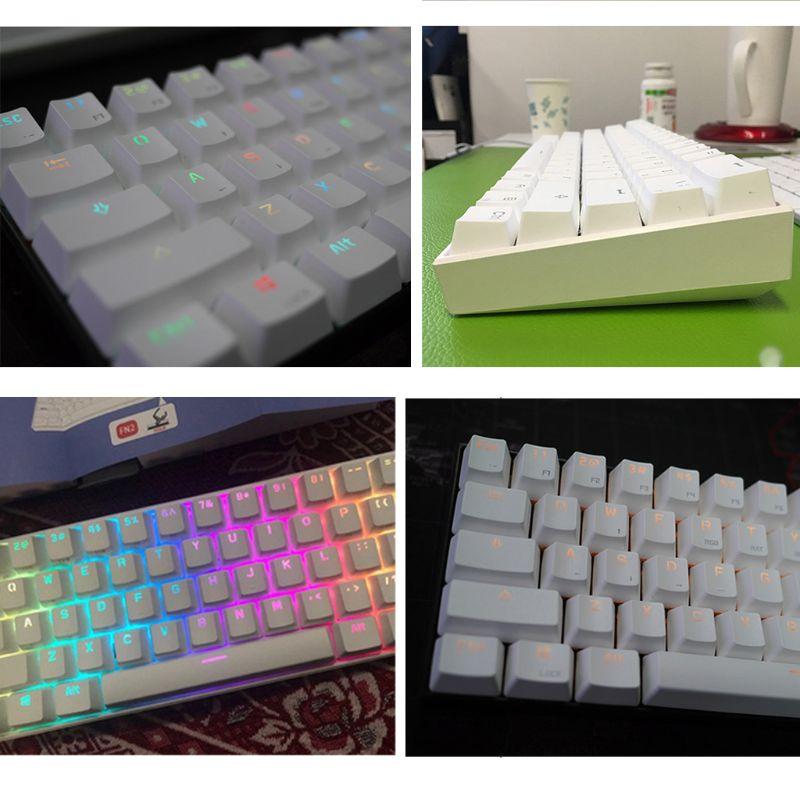 Image 4 - Anne Pro 2 Mechanical Keyboard 60% NKRO Bluetooth 4.0 Type C RGB 61 Keys Mechanical Gaming Keyboard Cherry Switch Gateron SwitchKeyboards   - AliExpress