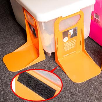Wielofunkcyjny samochód tylny bagażnik samochodowy stały uchwyt na półkę pojemnik na bagaże stojak odporny na wstrząsy Organizer uchwyt do przechowywania ogrodzenia Dropshipping tanie i dobre opinie CN (pochodzenie) Kieszeń tylnego siedzenia Q524