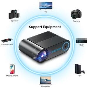 Image 5 - CRENOVA 2019 הכי חדש HD 720P וידאו מקרן עבור 1080P אלחוטי WiFi רב מסך מיני מקרן 3D VGA AV HDMI Proyector