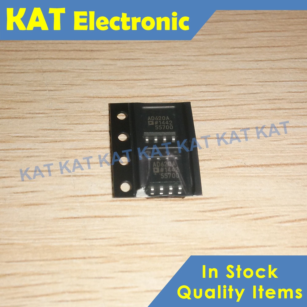 5PCS/Lot AD620AR AD620 SOP-8 Instrumentation Amplifier