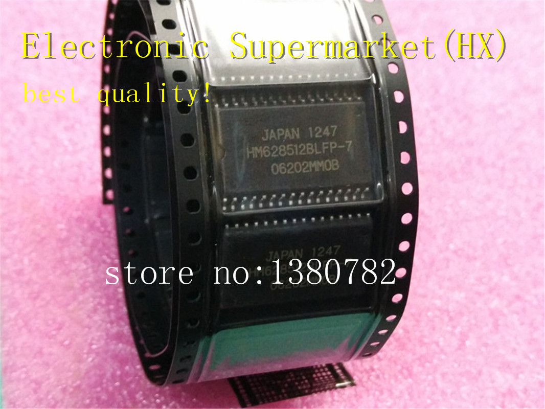 Free shipping 10pcs/lots HM628512BLFP-7 HM628512ALFP-7 HM628512 <font><b>628512</b></font> SOP-32 IC In stock! image