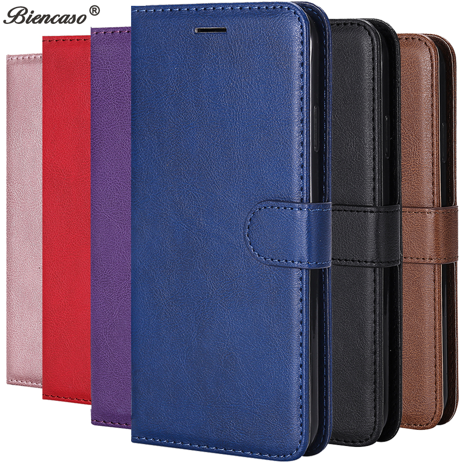 Leather Flip Wallet Case For Huawei P40 Pro P30 P20 P10 P9 P8 Lite 2017 P Smart 2019 Honor 9 10 Lite 8S 8A 8 Y5 2019 Cover Case(China)