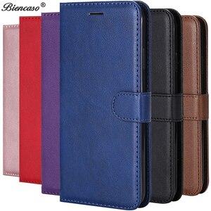 Leather Flip Wallet Case For Huawei P40 Pro P30 P20 P10 P9 P8 Lite 2017 P Smart 2019 Honor 9 10 Lite 8S 8A 8 Y5 2019 Cover Case(China)