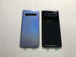 Image 2 - Original For Samsung Galaxy S10 5G G977 G977F 5G version Battery cover Back cover S10 Rear glass screen Rear Glass case