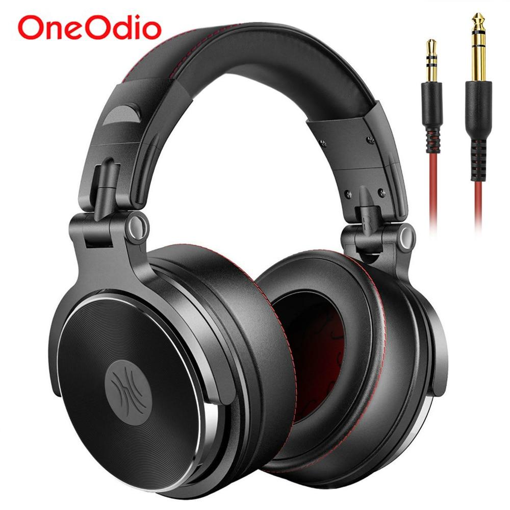 Oneodio складные накладные проводные наушники для телефона, компьютера, профессиональной студии Pro, мониторы, музыка, DJ гарнитура, игровые науш...