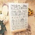 Горячие продажи дома Алфавит Прозрачный штамп/силиконовый валик для запечатывания штамп DIY альбом для скрапбукинга/производство карточек
