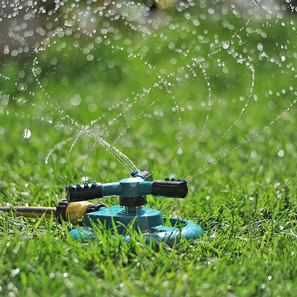 Rotating Automatic Durable Sprinkler 360 Degree Planting Lawn Homes Garden Planting Elements Watering Garden Spray