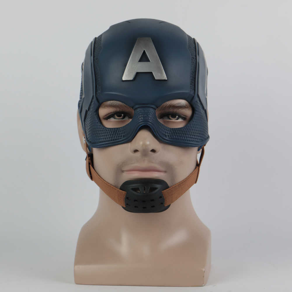Cosplay Captain America 3 Mask Avengers Civil War Mask Halloween Helmet Latex Mask Cosplay Costume