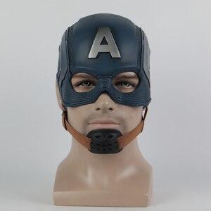 Image 1 - Cosplay Captain Mask America Civil War Mask Halloween Helmet Latex Mask Cosplay Costume