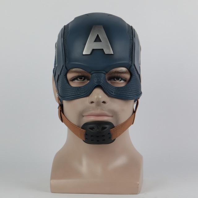Cosplay Captain Mask America Civil War Mask Halloween Helmet Latex Mask Cosplay Costume