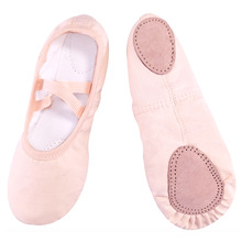 Slippers Gym Ballet-Shoes Teacher Canvas Yoga Women Girls Children for Kids