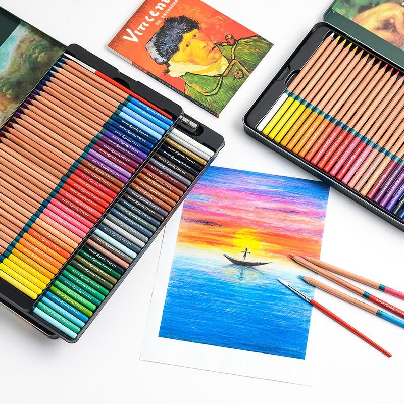 Bazgroły Pisak do pisania Marco Renoir 24/36/48/72 Kolorowy rozpuszczalny w wodzie ołówek artystyczny 3120