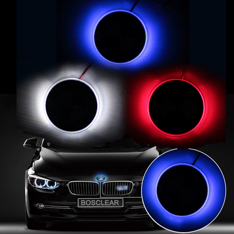 4D Car Styling Tail LED Logo Light Emblem Lamp Sticker Emblem Tail Lamp Decor For BMW X1 X3 X5 X6 E70 E39 E90 E60 E46 F10/15/25