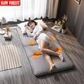 Высокоэластичное покрытие утепленные складной матрас татами один двойной подходит для студенческого общежития кровать коврик Качественн...