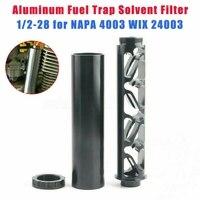 1/2 28 Fuel Fuel Filter for NAPA 4003 WIX 24003 Aluminum Single Core