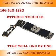 iPhone for 6G 6P 6S 6sp/mainboard 128G with Fingerprint Test-Well Good-Working Original
