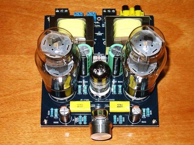 Hi Fi ステレオ 6N1/6N2 + 6P3P シングルエンドクラスオーディオチューブアンプボードバルブアンプボード DIY キット