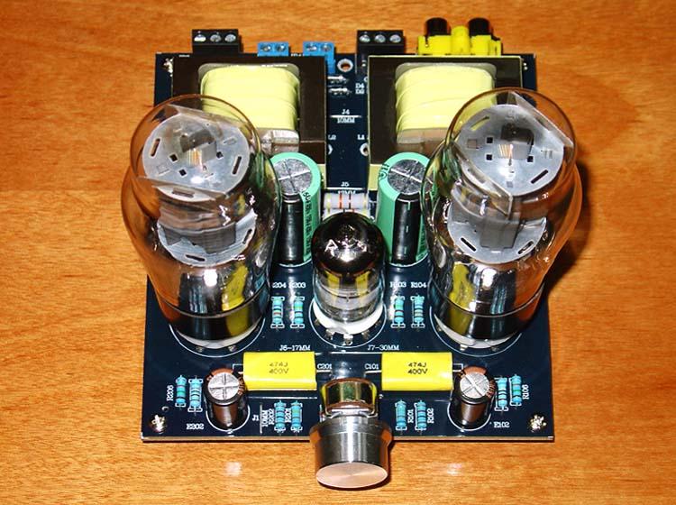 Hi-Fi Stereo 6N1/6N2+6P3P Single Ended Class A Audio Tube Amplifier Board Valve Amp Board DIY KIT