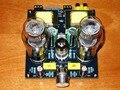 Hi-fi стерео 6N1/6N2 + 6P3P Одноконтурный усилитель звуковой трубки класса A плата клапана Amp доска DIY KIT