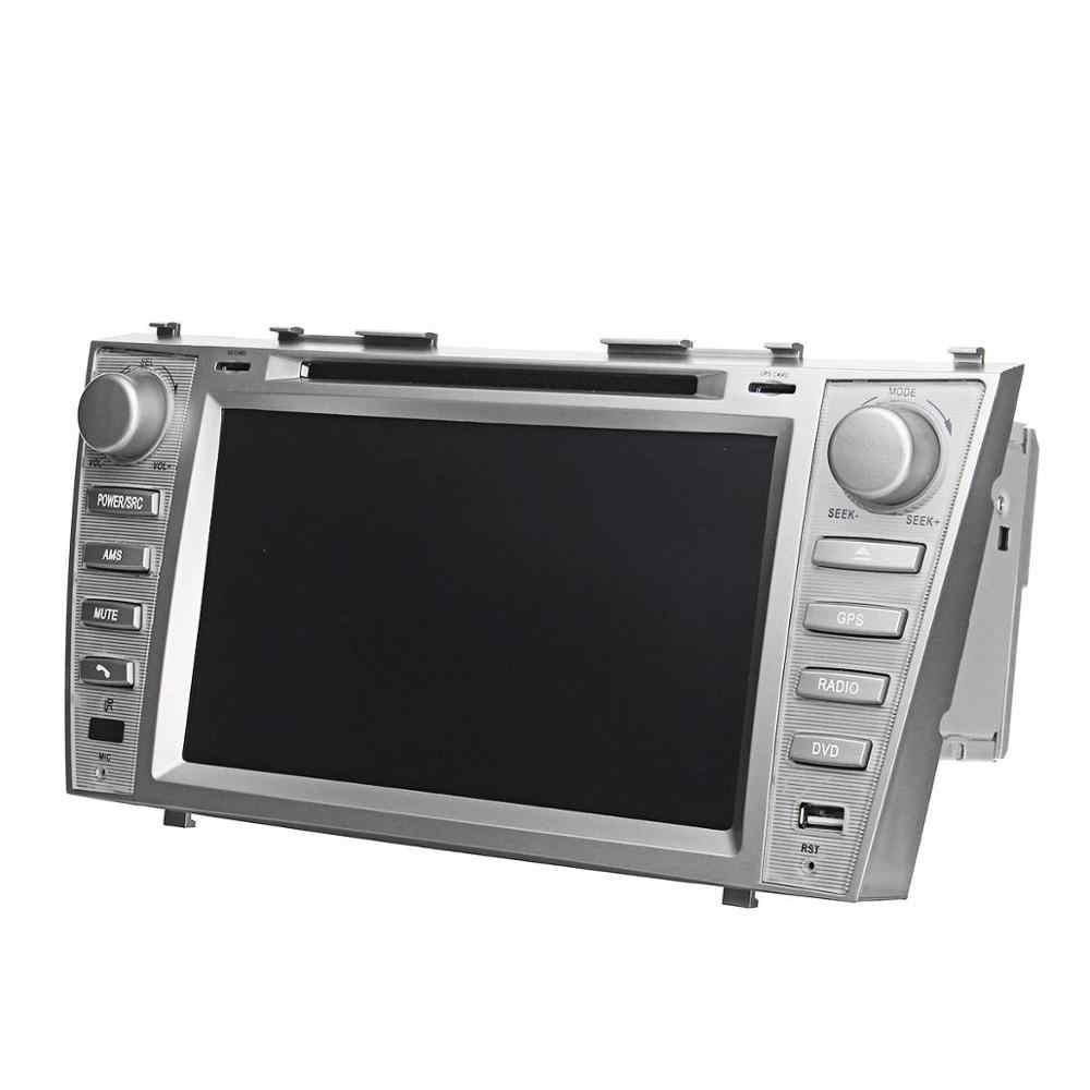 2Din 8 cal radia samochodowego DVD nawigacja multimedialna gps dla Toyota Camry 2007 2008 2009 2010 2011 samochodowe stereo USB SD USB TF Mp5 WINCE 6.0