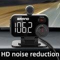 Автомобильный Bluetooth FM-трансмиттер CDEN, Автомобильный MP3-плеер с поддержкой TF-карты, с функцией быстрой зарядки и шумоподавления