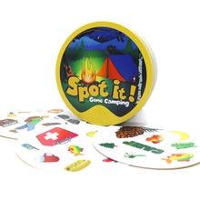 Jogos de cartas de ponto 70mm jogo de festa de família para crianças educação brinquedos ele dobble ponto série jogo de tabuleiro acampamento shalom férias estrada