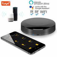 TUYA-domótica inteligente con WIFI + IR + RF + 4G, Controlador Universal para iOS y Android, funciona con Control de voz, Alexa y Google Home